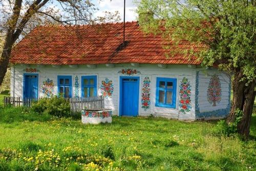 お花がプリントしてある可愛い家の画像(29枚目)