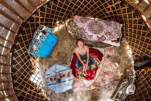 世界各国の人達のベッドルームの画像(4枚目)