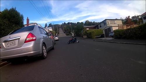 ドリフトできる三輪車8
