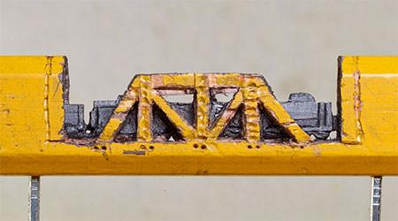 画像】鉄道模型のように鉛筆を加工したアートが凄い!!の画像(4枚目)