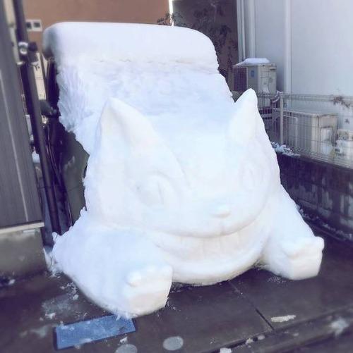 ハイクオリティな雪像の画像(7枚目)