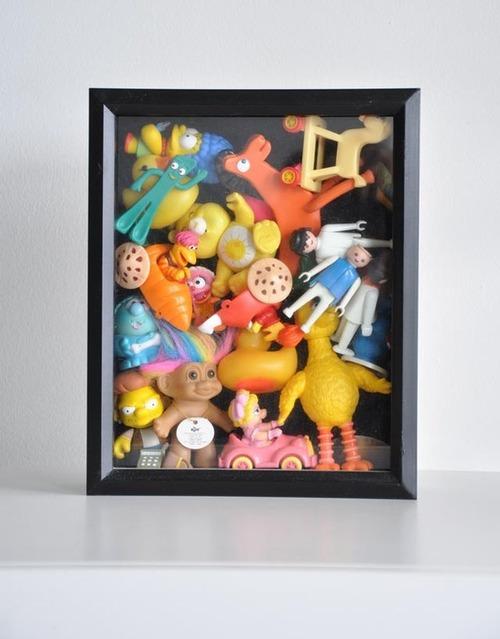 趣味で集めたコレクションの見せ方と収納方法が凄い!!の画像(10枚目)