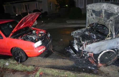 どうしてそうなった?何だか凄まじい事になっている自動車事故の画像の数々!の画像(15枚目)