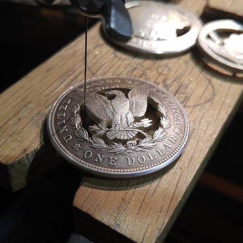 昔のコインを加工したアクセサリの画像(14枚目)