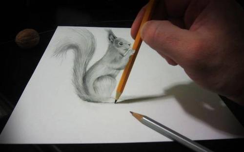 紙で作った3Dアートの画像(25枚目)