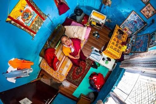 世界各国の人達のベッドルームの画像(5枚目)
