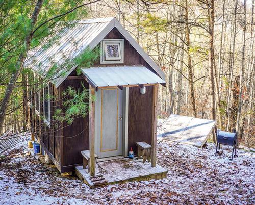 小さな小屋にロマンがぎっしり!大自然の中のコテージが凄い!!の画像(26枚目)