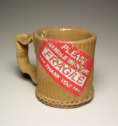 ダンボール製のようなマグカップの画像(3枚目)