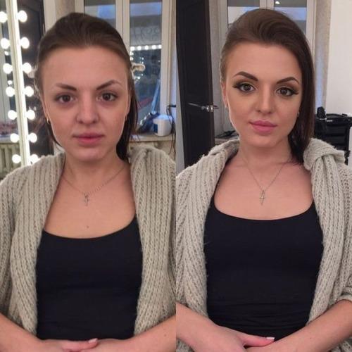 女性の化粧前、化粧後の画像の数々_02