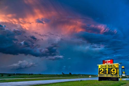 幻想的で恐ろしい!嵐が起こっている空を映した写真の数々!!の画像(8枚目)