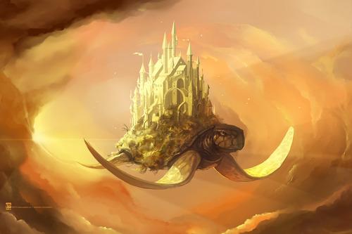 幻想的でドキドキする超巨大生物の壁紙!の画像(22枚目)