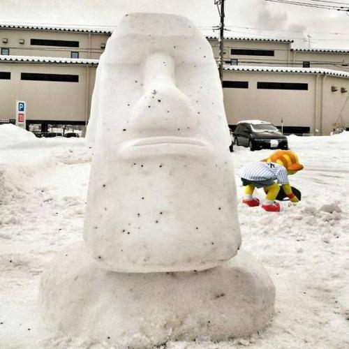 ハイクオリティな雪像の画像(28枚目)