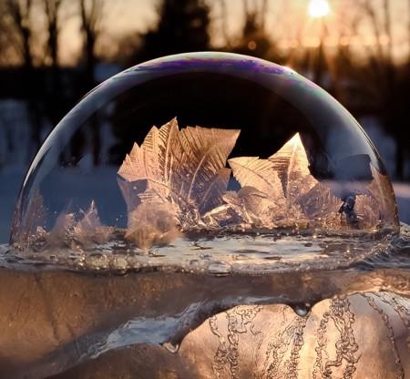美し過ぎる氷の泡02