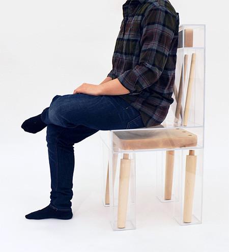 組立てたくなる椅子の画像(2枚目)