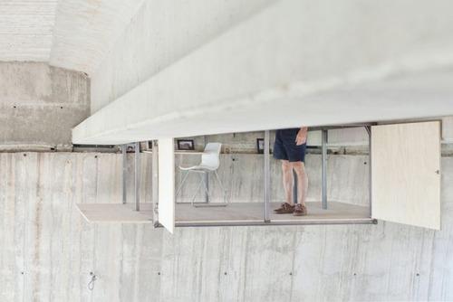 橋脚の下を改造した部屋の画像(5枚目)