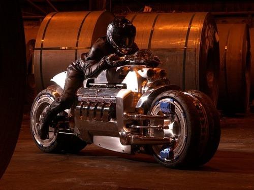 世界に10台5500万円のバイク!ダッジ・トマホークがやっぱり凄い!!の画像(1枚目)