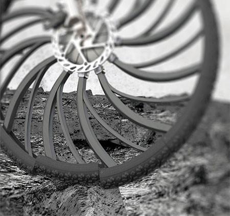 自転車のホイール一体型のサス04