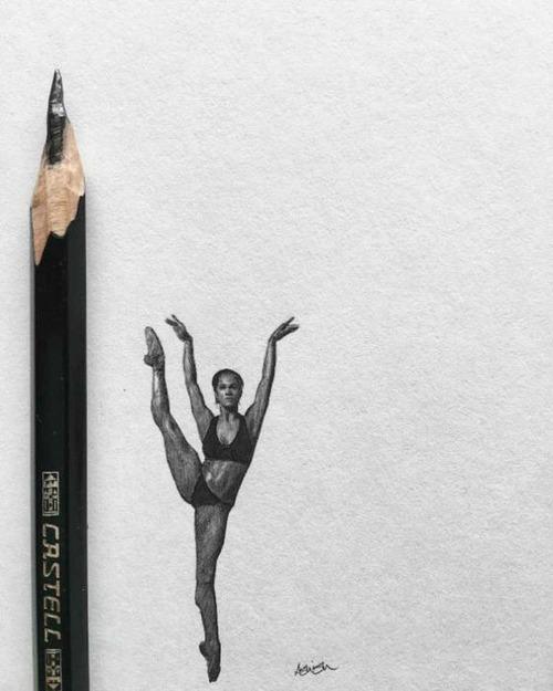 鉛筆やシャーペンで描いた小さいけど凄いクオリティの画像の数々!!の画像(9枚目)