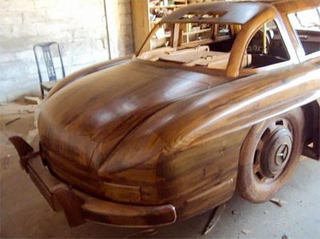 木製のメルセデス・ベンツ05