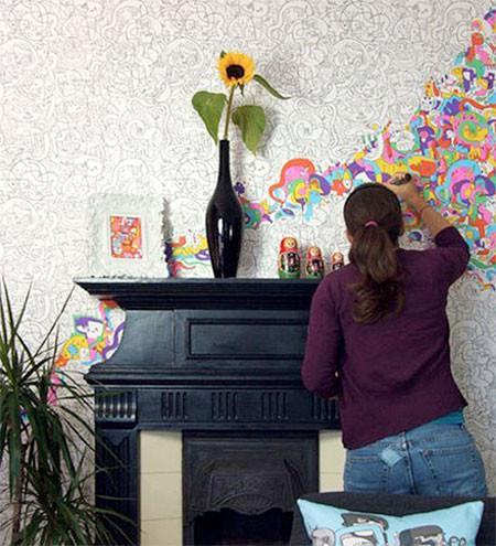 塗り絵の壁紙05