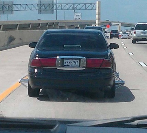 ダメなカスタムをしている自動車の画像(5枚目)