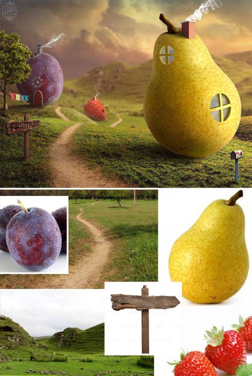 合成写真の素材をまとめた比較の画像(9枚目)