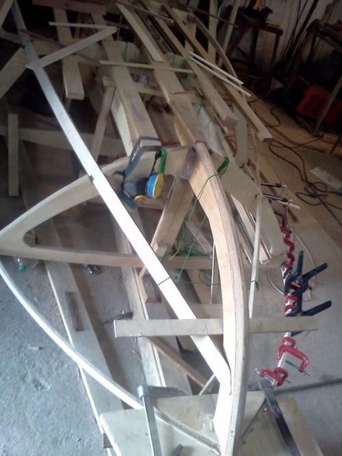 木製のボートの画像(5枚目)