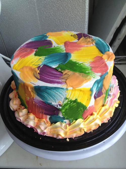 【画像】素晴らしすぎて食欲は起きないアートなケーキが凄い!!の画像(10枚目)