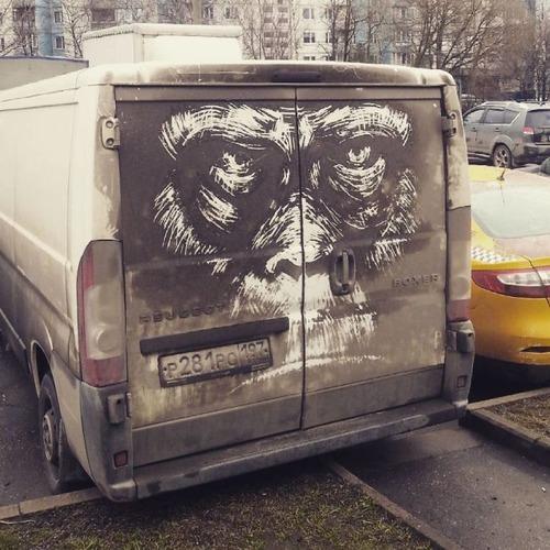 汚れた自動車のペイントの画像(6枚目)