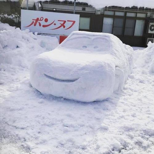 ハイクオリティな雪像の画像(10枚目)