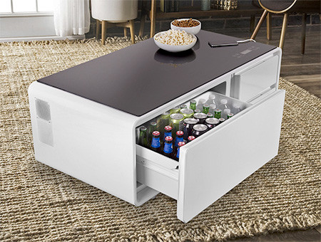 冷蔵庫つきのテーブルの画像(6枚目)