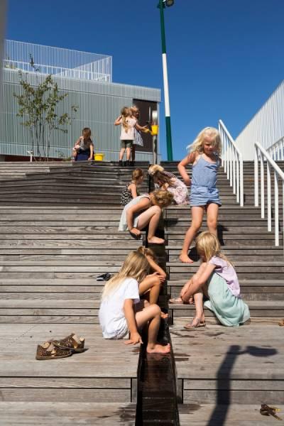 【画像】コペンハーゲンの小学校が子供の秘密基地のよう!!の画像(6枚目)