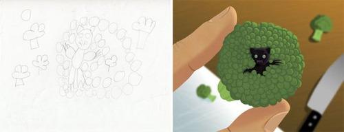 子供の落書きの画像(2枚目)