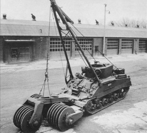 撤去は大変…昔の地雷処理戦車の画像の数々!!の画像(14枚目)