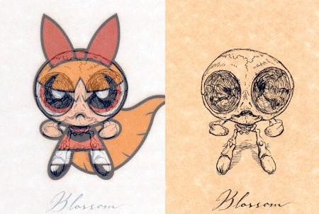 アニメや漫画のキャラクターの骨格のイメージ画像が凄いwwwの画像(12枚目)