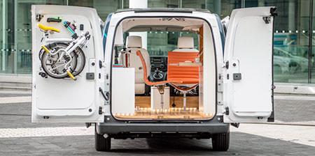 コンパクトなオフィス自動車の画像(1枚目)
