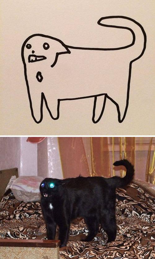 猫のイラストの画像(8枚目)