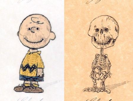 アニメや漫画のキャラクターの骨格のイメージ画像が凄いwwwの画像(11枚目)