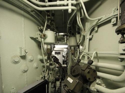 原子力潜水艦の内部の画像(13枚目)