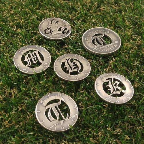 昔のコインを加工したアクセサリの画像(15枚目)