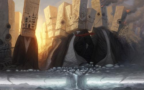 幻想的でドキドキする超巨大生物の壁紙!の画像(13枚目)