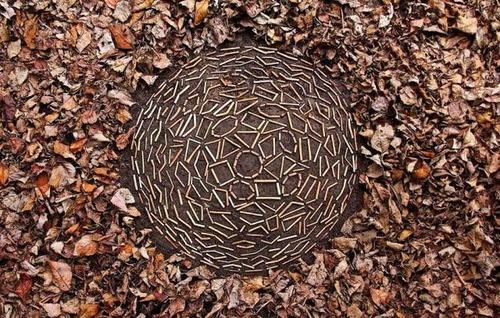 自然の素材を使ったアートの画像(31枚目)