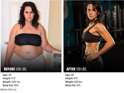 やればデキル!ダイエット肉体改造のビフォーアフターの画像の数々!!の画像(1枚目)