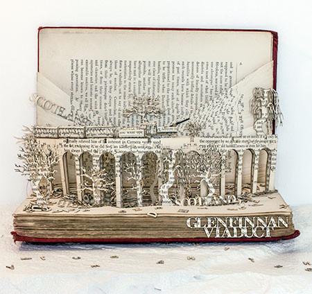 本の3Dの彫刻06