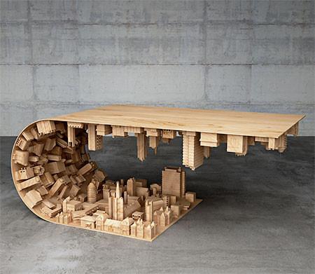 【画像】大きな街を再現したテーブルが凄い!!の画像(7枚目)