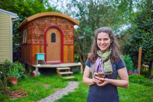 小さな小屋にロマンがぎっしり!大自然の中のコテージが凄い!!の画像(8枚目)