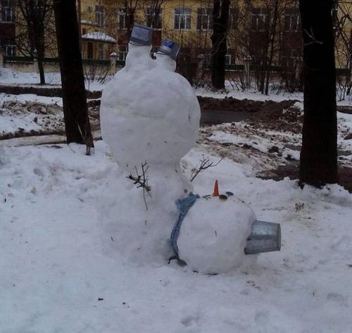 海外の凄まじい冬の寒さの画像(8枚目)