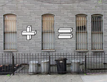 計算式にしているストリートアート02