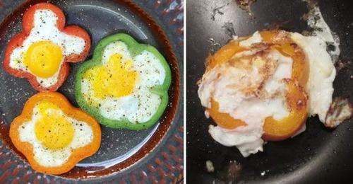 料理の成功例と失敗作の比較の画像(17枚目)