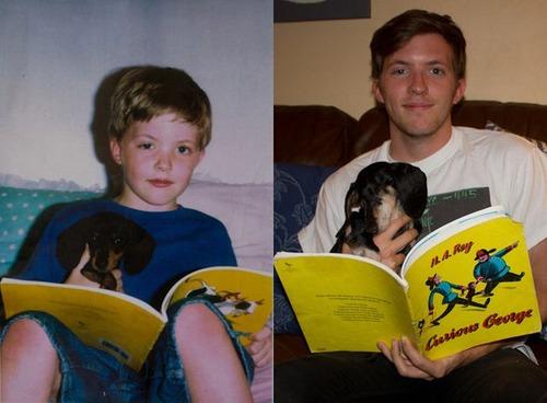 犬や猫の最初に撮った写真と最後に撮った写真の数々の画像(15枚目)